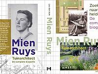 Boek biografie Tuinarchitect Mien Ruys